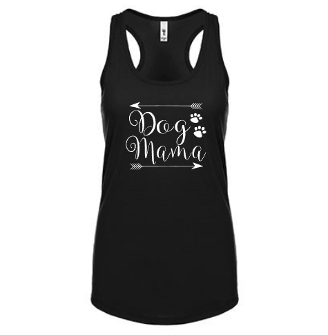 Dog Mama Tank Shirt - Boutique Style