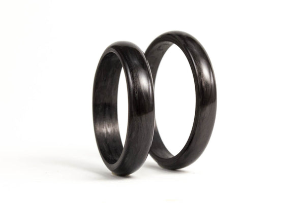 Carbon fiber wedding bands (00122_3N4N)