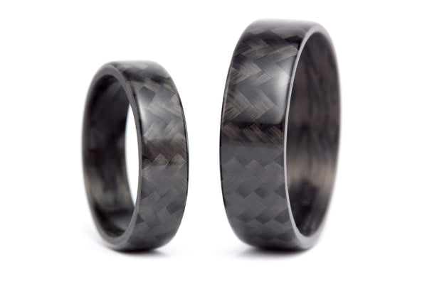 Carbon fiber wedding bands (00105_5N7N)