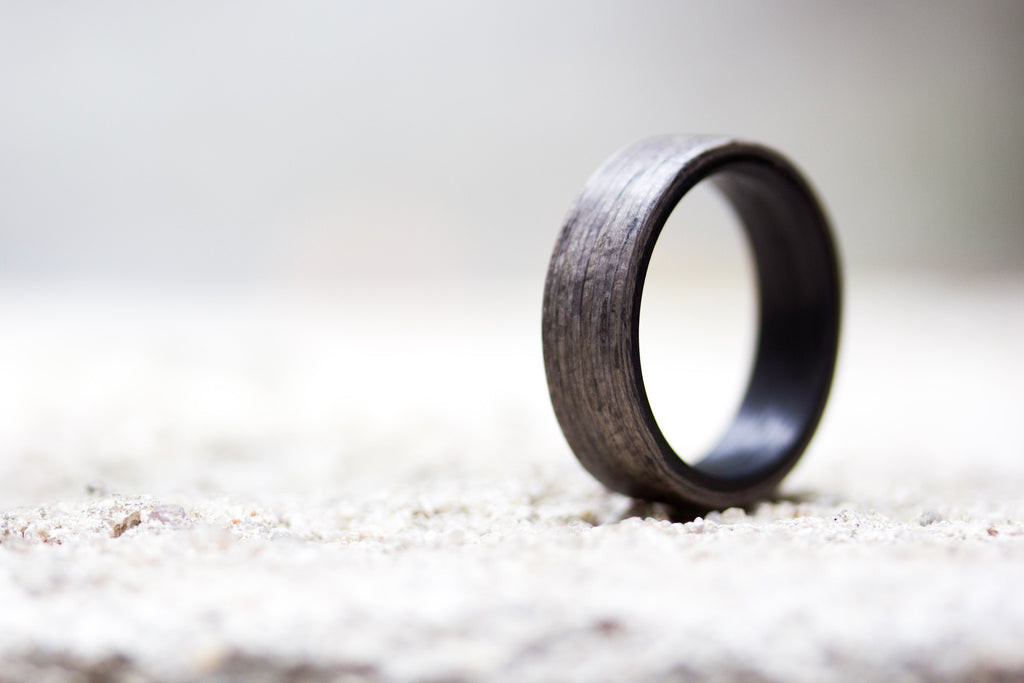 grey rings and offset mens striped products wedding ring custom black men zirconium s