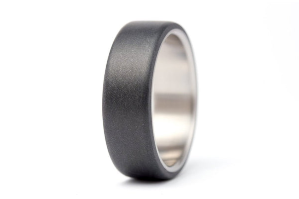 Titanium and graphite ring (01300_7N)