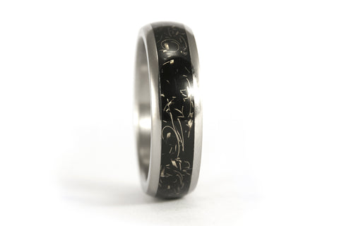 Titanium and brass ring  (05000_6N)