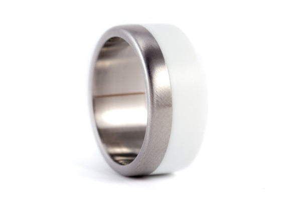 Titanium wedding bands (02503_8N_02504_8N)