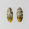 Flagstone Citrine Earrings