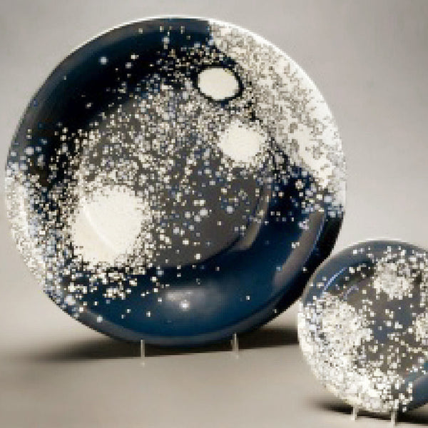 "18"" Celestial Explosion Glass Bowl"