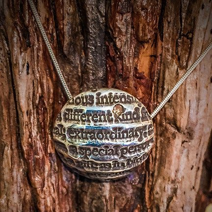 Extraordinary, Special Person Sterling Silver Necklace - The Gallery at Gruene Lake Village