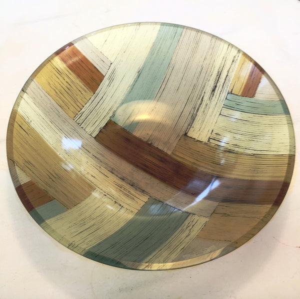 "18"" Woodland Vessel Bowl- Texas Pines - The Gallery at Gruene Lake Village"