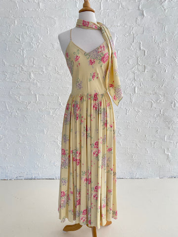 Ralph Lauren Silk Floral Dress