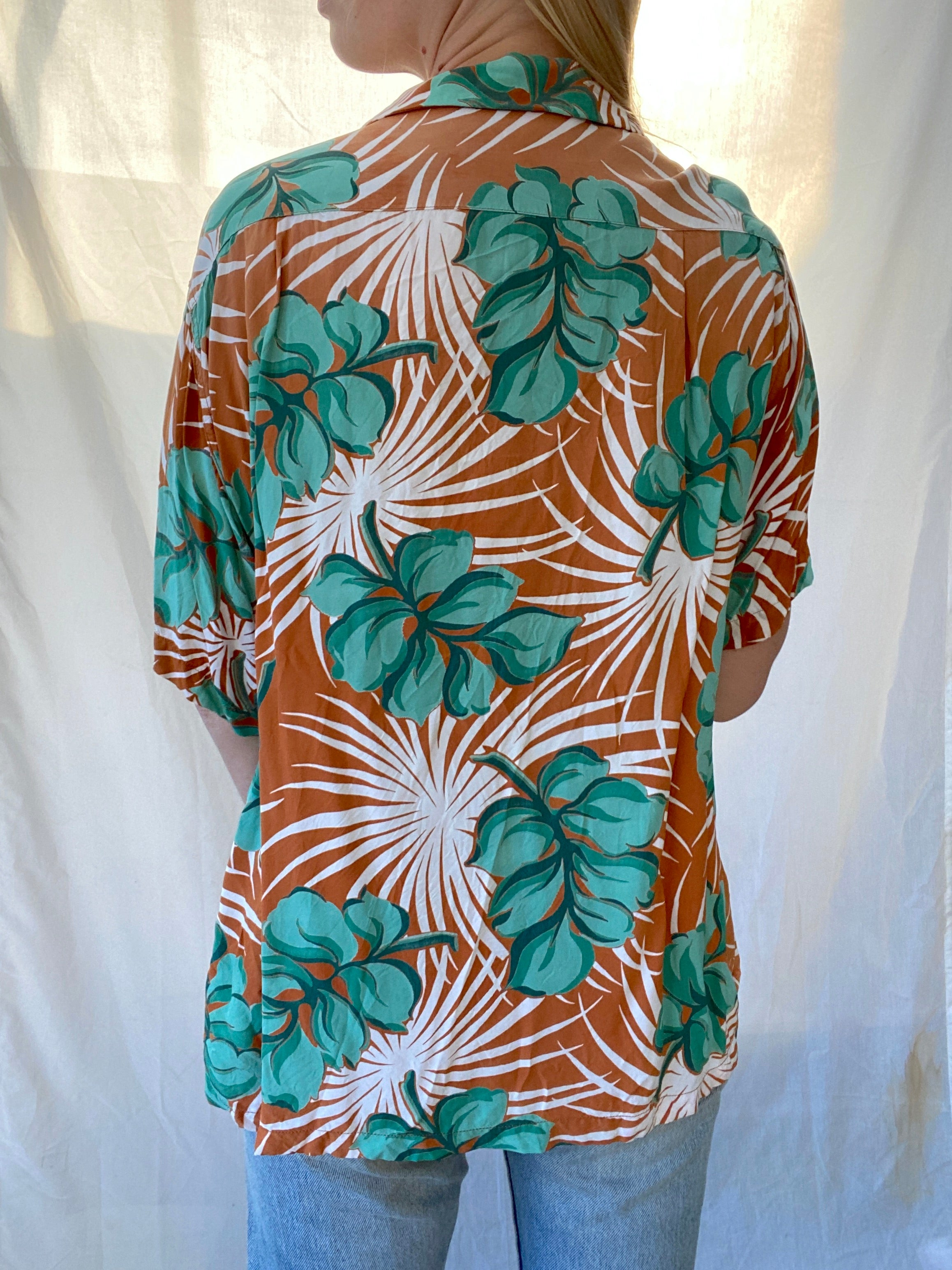 1950's Monstera Hawaiian Tee