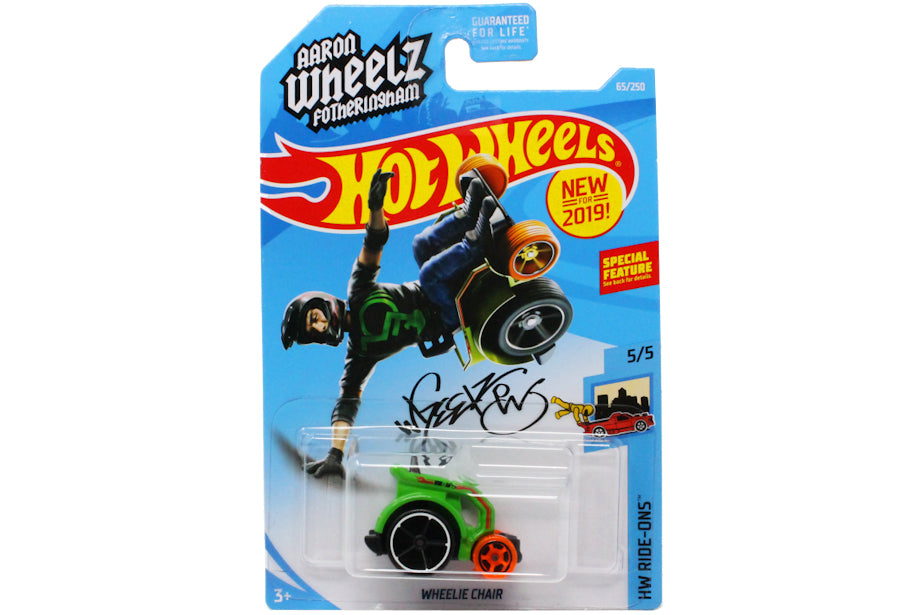"Aaron ""Wheelz"" Fotheringham Hot Wheels"