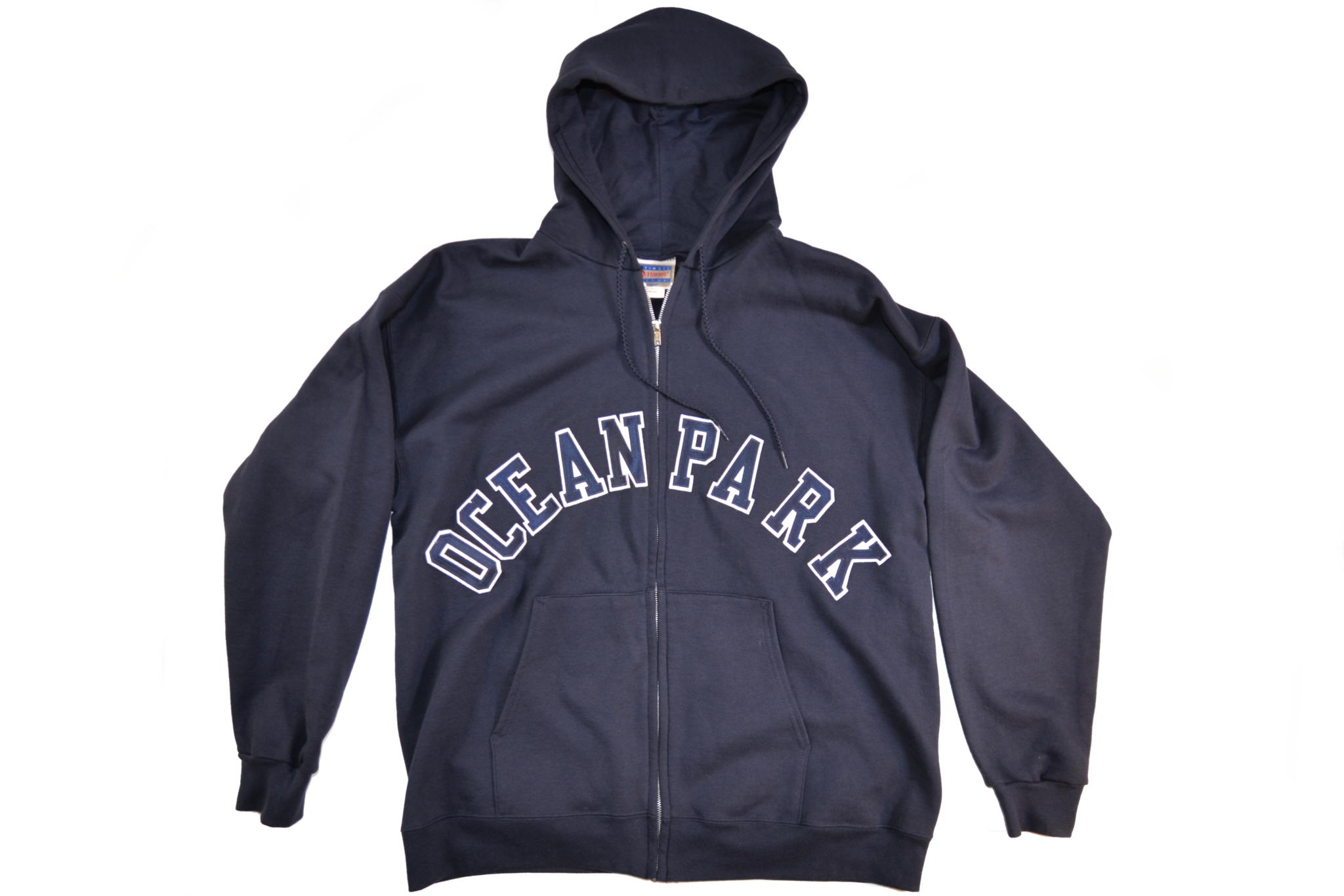 OCEAN PARK COLLEGIATE ZIP-UP HOODIE