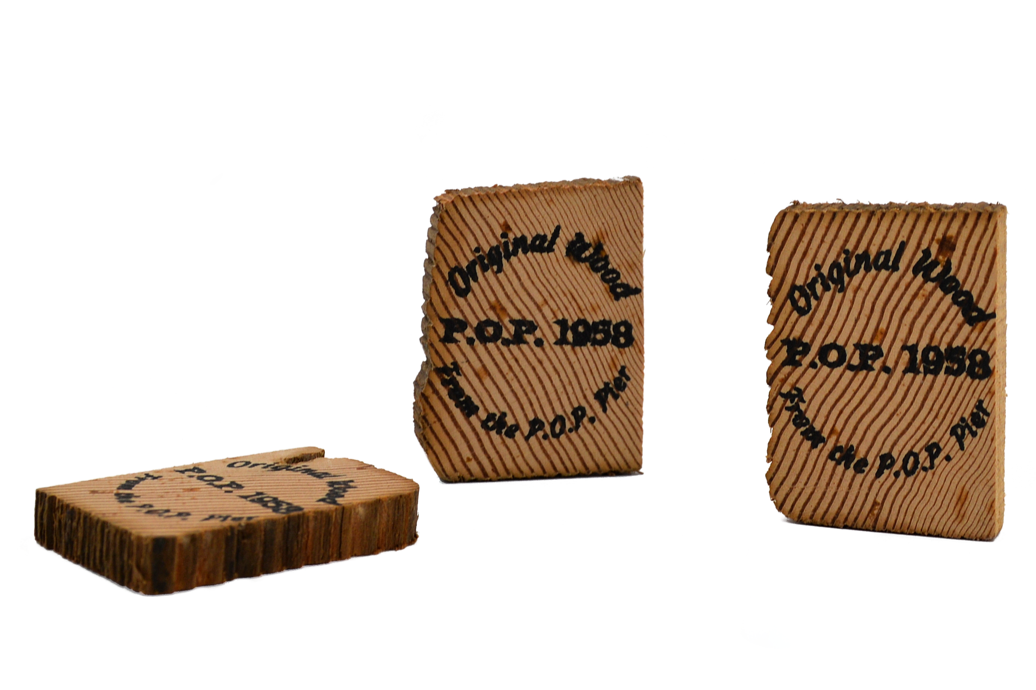 Pacific Ocean Park Pier Wood Blocks