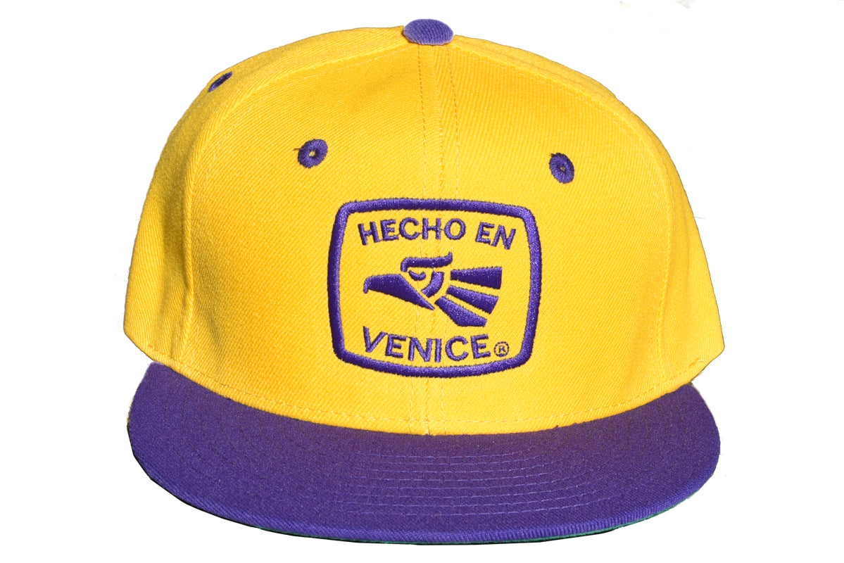 "HECHO EN VENICE ""LAKERS"" HAT"