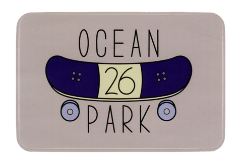 OCEAN PARK 26 SKATEBOARD STICKER