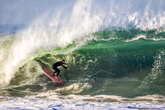 Winter Swell - Metal Print by Steve Christensen Photo