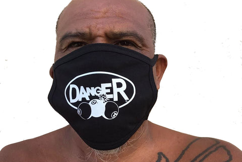 DANGER 187 FACE MASK