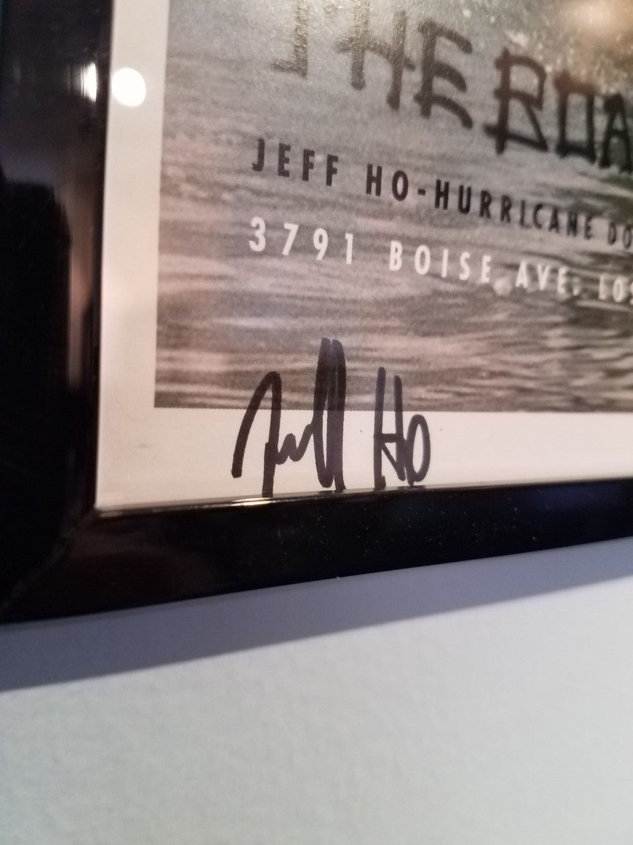 Autographed Jeff Ho Poster - Limited Edition