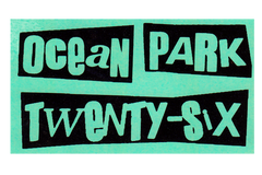 OCEAN PARK TWENTY-SIX STICKER