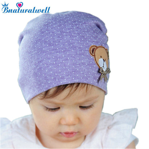 d30b31d8be3 Bnaturalwell Children baby beanie hats Kids lovely owl Knitted hats Soft cotton  Spring Autumn Hats Newborn