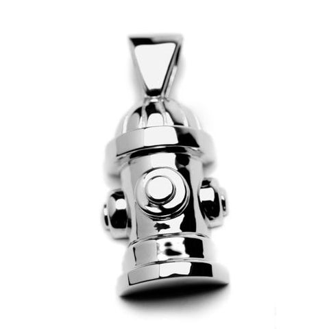 Fire Hydrant Dog Pendant Necklace