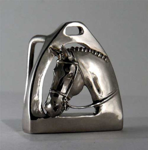 Hunter and Stirrup Belt Buckle