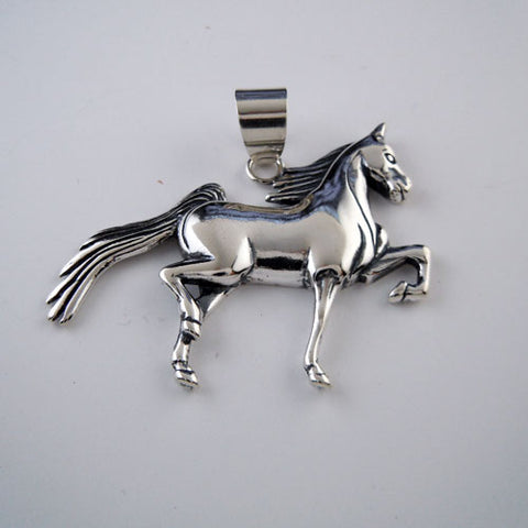 Saddlebred Horse Pendant Necklace
