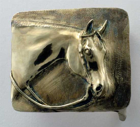 Western Pleasure Horse Belt Buckle