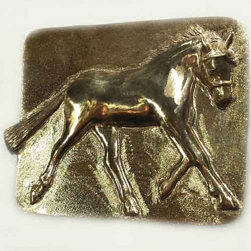 Welsh Pony Belt Buckle