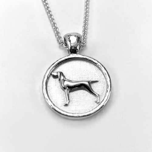 Bracco Italian Pointer Dog Pendant Necklace