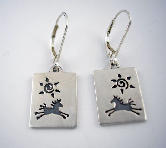Spirit Horse Earrings