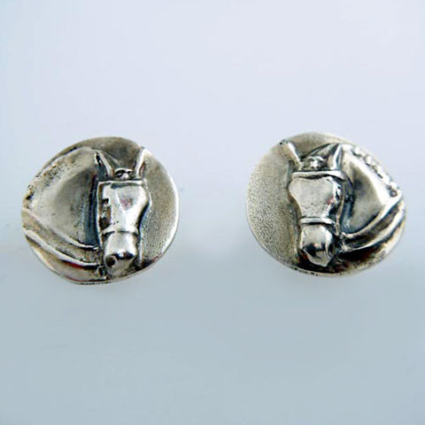 Dressage Horse Post Earrings