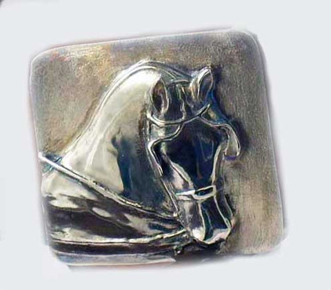Driving Horse Belt Buckle