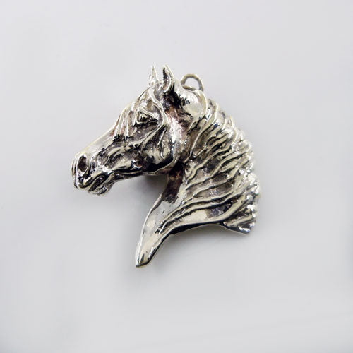 Victory Horse Head Pendant Necklace