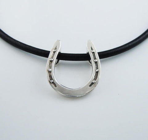 BEST Horseshoe Necklace Sterling Silver