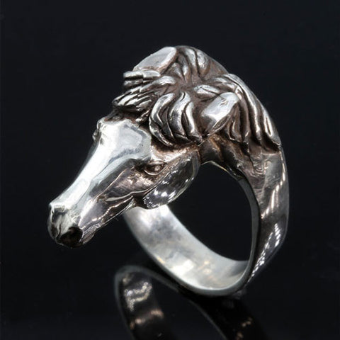 Mustang Ring in Sterling Silver