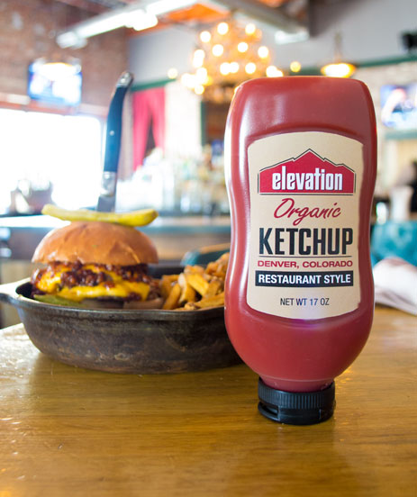 Elevation Organic Ketchup with No High Fructose Corn Syrup