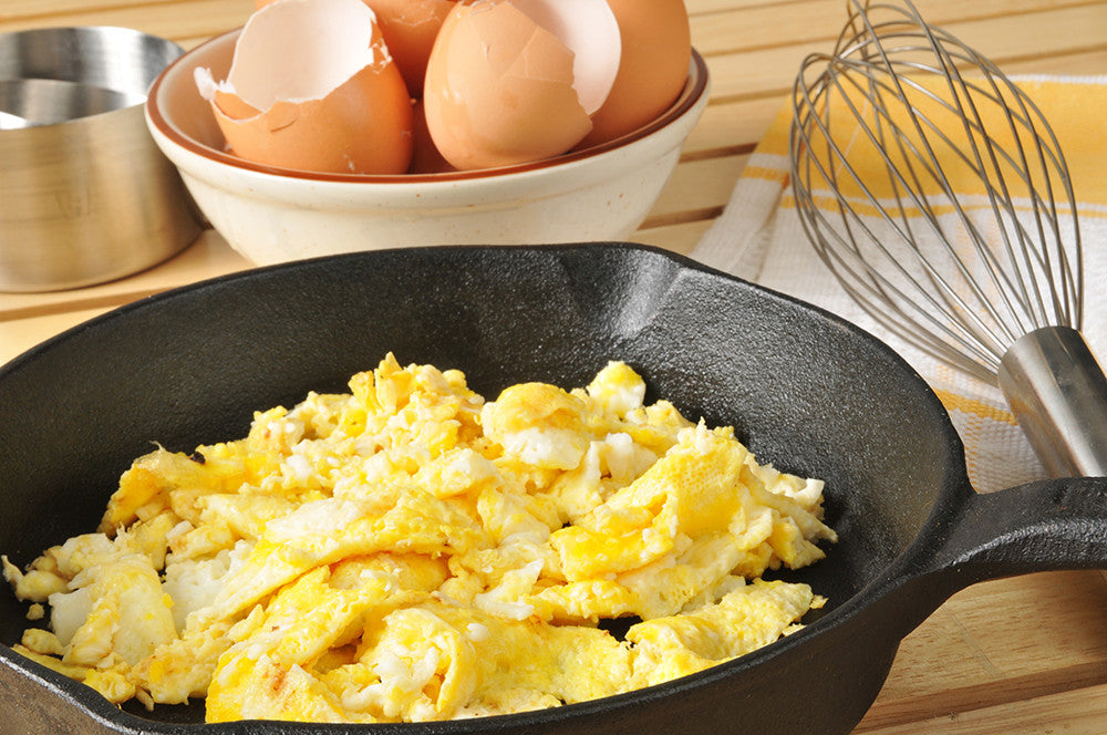 Scrambled Eggs for Paleo Diet