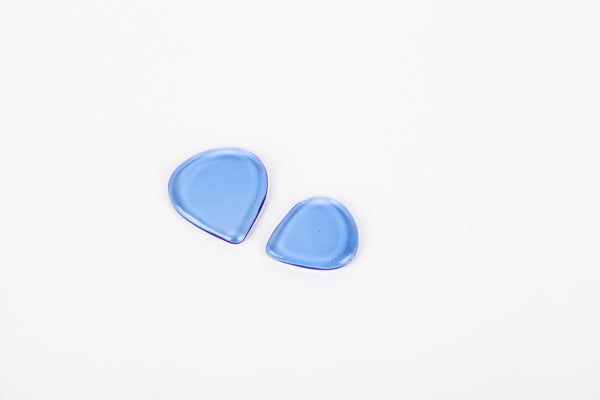 Sky Blue - Handcrafted Glass Pick