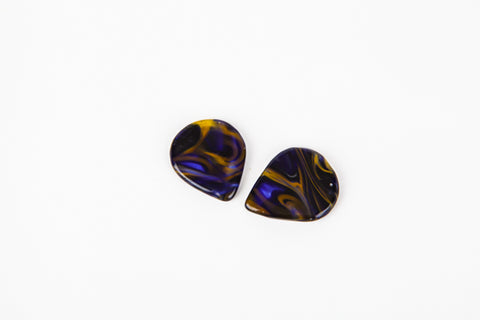 Starry Night - Handcrafted Glass Pick