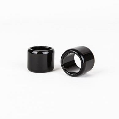 Mini Guitar Slide - Onyx, open ended
