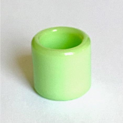 "Glass Guitar Slide - Mini - ""Green Slime"""