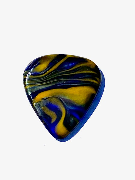 "Glass Guitar Pick - ""Starry Night"""