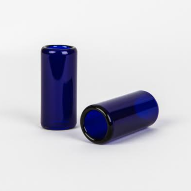 "Glass Guitar Slide - ""Brilliant Blue"""