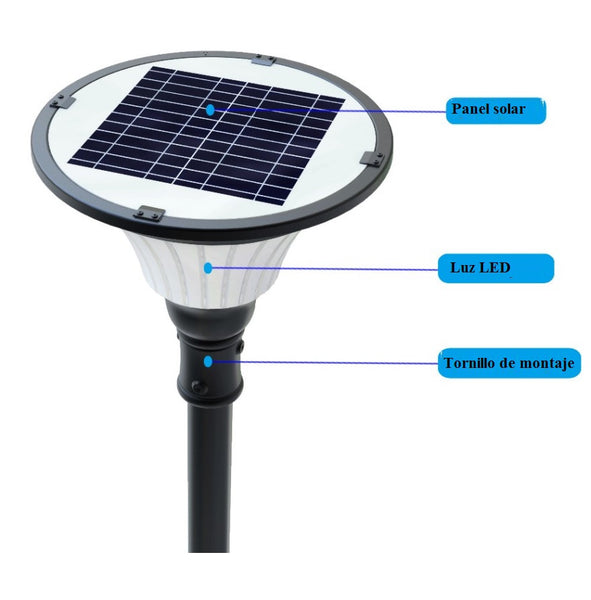 Lámpara solar APS12