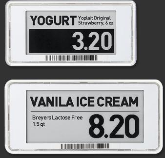 SoluM Graphic Electronic Freezer Label