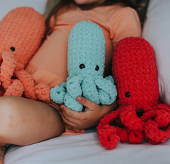 Modern Stuffed Octopus Toy