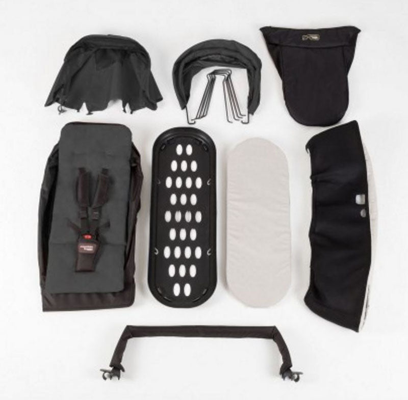 Mountain Buggy Duet Family Pack - Black