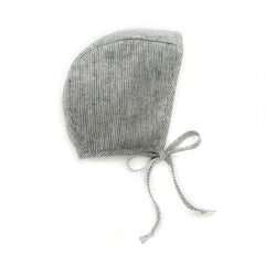 Natural Stripe Bonnet