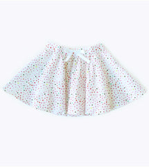 Treasure Pocket Skirt in Watercolor Dot