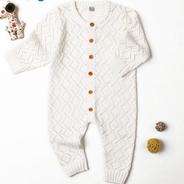 Knit Winter Romper - Strollerdepot